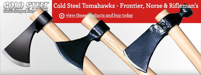 Cold Steel Tomahawks Frontier Norse Rifleman's