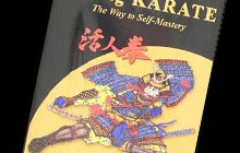A photo of a martial arts book