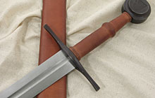 A photo of a western sword