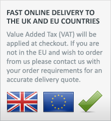 we offer fast delivery to UK and EU countries. VAT will be applied to your order at checkout.
