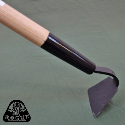"""4 inch - Dainty But Tough Garden Hoe 60"""" Ash Handle by Rogue Hoes USA - RH-40G"""