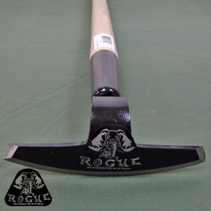 """6 inch - Garden /Draw Hoe 60"""" Ash Handle by Rogue Hoes USA  - RH-60G"""