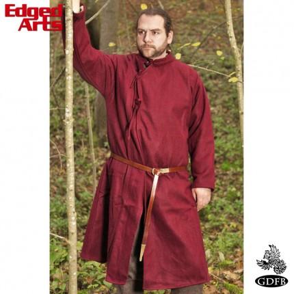 Wool Coat 10th Century - Extra Extra Large - Maroon - GB0275