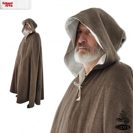 Wool Cloak - Brown - GB3286