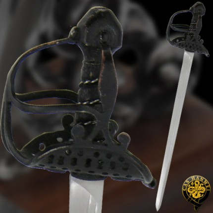The English Mortuary Hilt Mini Sword - MH2306