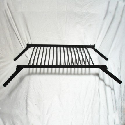 Folding Steel Cooking Grate – Camping, Bushcraft, Re-enactment - OB3966