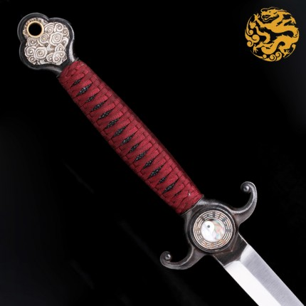 One-Piece Jian Sword-Yin Yang Motif - SD15050-TJ