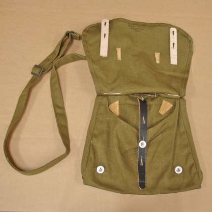 WW2002 Reproduction of a WWII era German Army M31 Breadbag, or Brotbeutel.