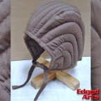 Padded Arming Cap - Brown - One Size - AB3992