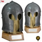 Barbuta Helmet -Antiqued -  AH2192N