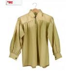 Cotton Shirt - Natural -X X  Large - GB3027