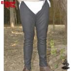 Medieval Separate Hose - Wool - Black - XL - GB3199