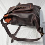 Traditional Leather Backpack. Made in Spain – HR-M10