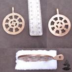 Wheel of the Year Sun Cross Pagan Roman Pendant - OB2910